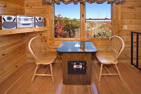 Premium 1 Bedroom Cabin with Game Table - A Romantic Journey