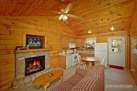 Gas Fireplace - A Romantic Retreat