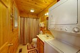 1 Bedroom Pigeon Forge Cabin with Washer/Dryer