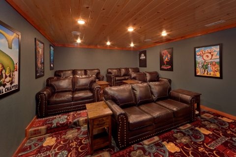 Luxury Cabin with Large Theater Room - A Smoky Mountain Dream