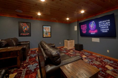 6 Bedroom Cabin with Theater Room and Karaoke - A Smoky Mountain Dream