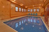 6 Bedroom Cabin with Private Indoor Heated Pool