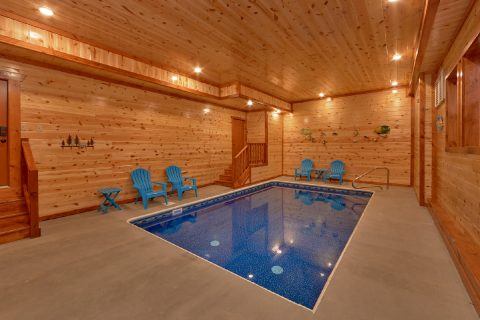 Luxury 6 Bedroom Cabin with Indoor Pool - A Smoky Mountain Dream
