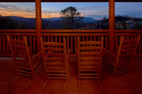 Premium 6 Bedroom Cabin with Mountain View - A Smoky Mountain Dream