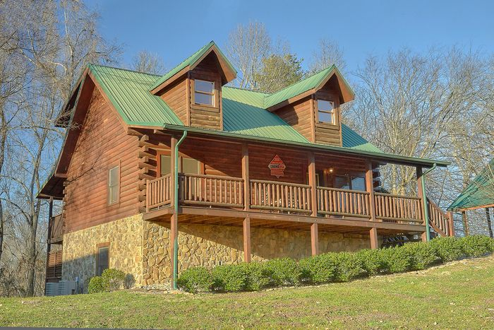 A Smoky Mountain Experience Cabin Rental Photo
