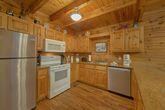 Full Kitchen in 4 bedroom cabin rental