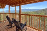 Gatlinburg cabin with Mountain Views from deck