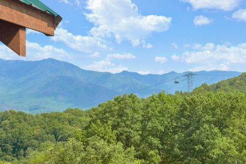 5 bedroom cabin with views of Ober Gatlinburg - A Spectacular View to Remember