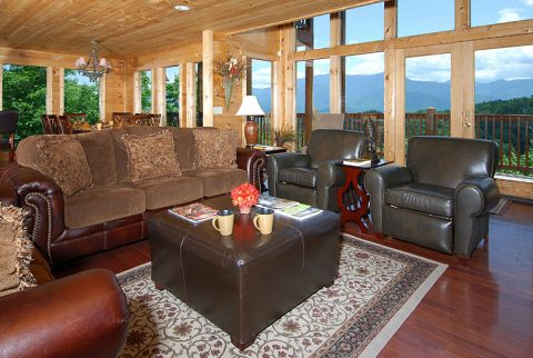 5 Bedroom Cabin Near Ski Resort Gatlinburg - A Spectacular View to Remember