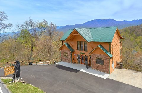 5 Bedroom cabin with Views of the Mountains - A Spectacular View to Remember