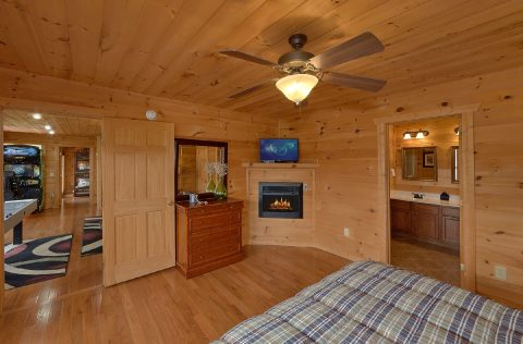 Premium Gatlinburg Cabin with 4 Master Suites - A Spectacular View to Remember