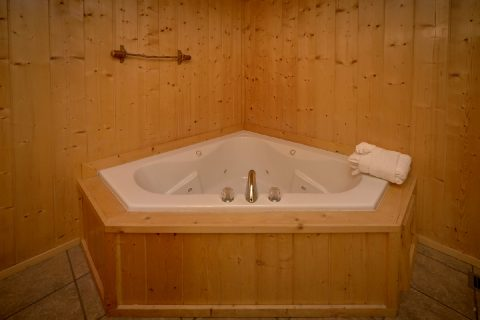 Luxurious 5 Bedroom cabin with 4 Jacuzzi Tubs - A Stunning View