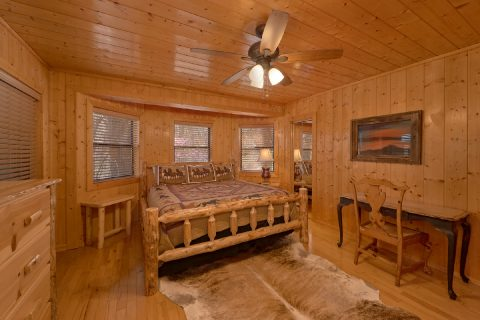 Cabin with Mountain Views and 5 King bedrooms - A Stunning View