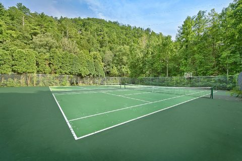 5 bedroom cabin with Resort Tennis Court - A Stunning View