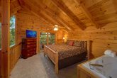 Cabin with Loft Bedroom and King Bed