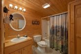 Private Bathroom in 2 bedroom cabin