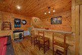 Cabin with Game Room, pool table and bar