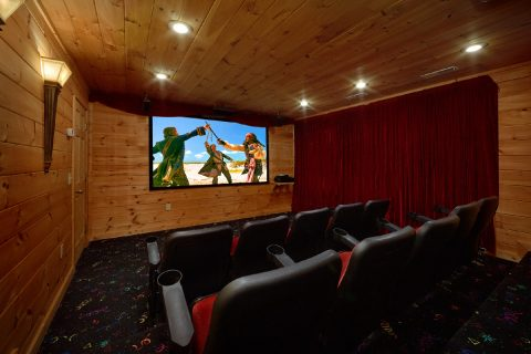 Gatlinburg cabin with Theater Room and Views - A View From Above