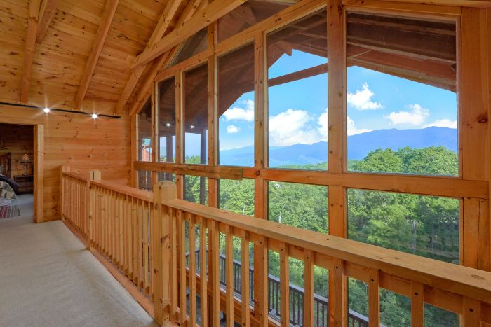 Gatlinburg Cabin with Mountain Views from deck - A View From Above