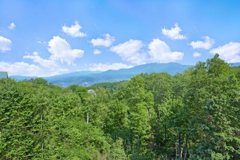 Views of the Mountains from 5 bedroom cabin - A View From Above
