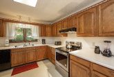 Full kitchen in 3 bedroom vacation rental