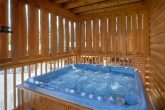 Private hot tub at 2 bedroom cabin