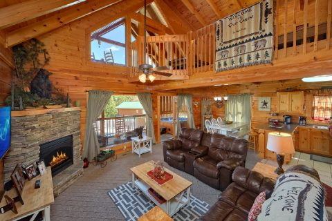 2 Bedroom cabin with Spacious Living room - Absolute Delight