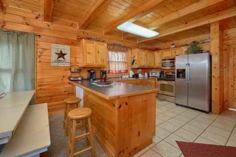 Luxurious 2 bedroom cabin with full kitchen - Absolute Delight