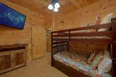 4 bedroom cabin with bunk bedroom and TV