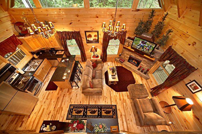 Gatlinburg Cabin with Open Floor Plan - Adler's Ridge