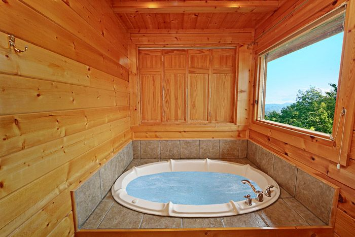 Jacuzzi Tub with Views - Adventure Lodge