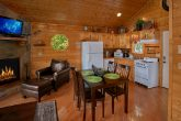 Honeymoon Cabin with Dining Area and Kitchen