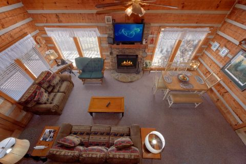 Spacious 1 bedroom cabin with fireplace - All By Grace