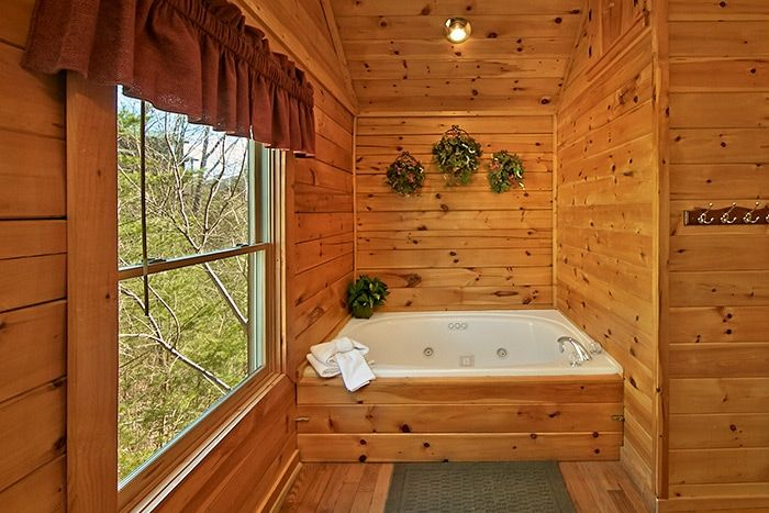 Jacuzzi Tub in Master Suite - Almost Heaven