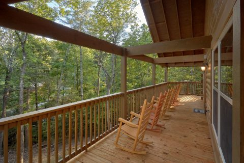 Rocking Chairs with Wooded View - Almost Paradise