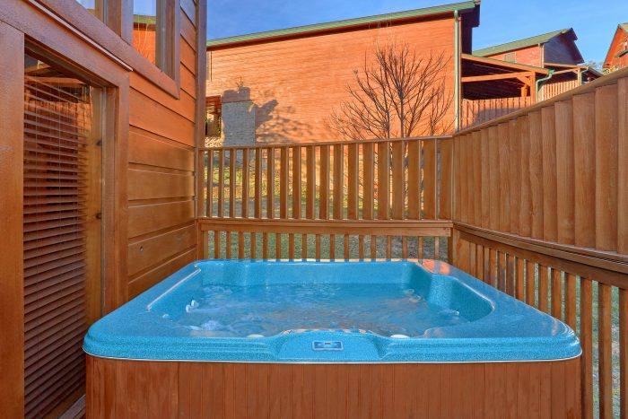 Hot Tub Off the Back Deck - Almost There
