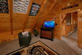 Harley Motorcycle Themed Room in Cabin