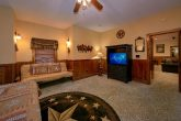 King Master Suite with Futon, TV and Bathroom