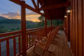 Large 6 Bedroom Cabin with a View Sleeps 16