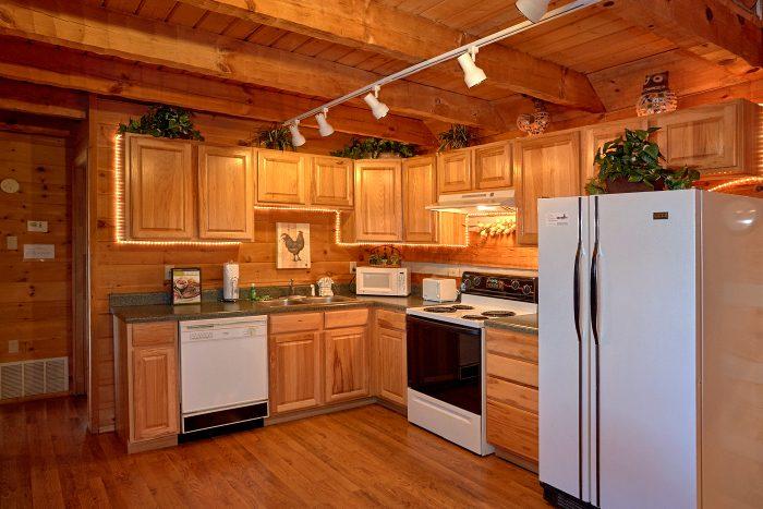 1 Bedroom Cabin Sleeps 6 with Open Kitchen - Amazing Sunset