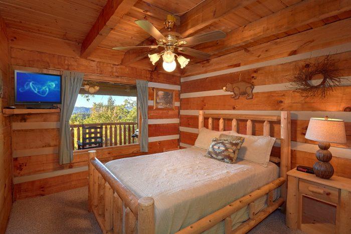 1 Bedroom Cabin Sleeps 6 with Main Floor Bedroom - Amazing Sunset