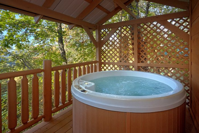 1 Bedroom Cabin Sleeps 6 with Private Hot Tub - Amazing Sunset