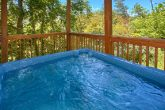 Smoky Mountain Cabin with Hot Tub and View