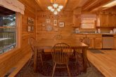 Cozy Dining Area for 6 in 2 bedroom cabin