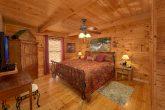 Main Floor Master Bedroom in 2 Bedroom cabin