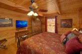 Master Bedroom with King bed and Bath