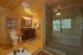 Master Bath with Stone shower and Jacuzzi Tub