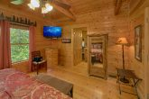 Luxurious King bedroom in 2 bedroom cabin