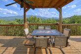 Views of the Smoky Mountains from deck at cabin