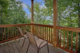 1 bedroom cabin rental with private deck